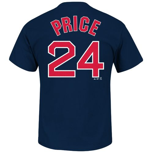 Majestic Men's Boston Red Sox David Price #24 T-shirt