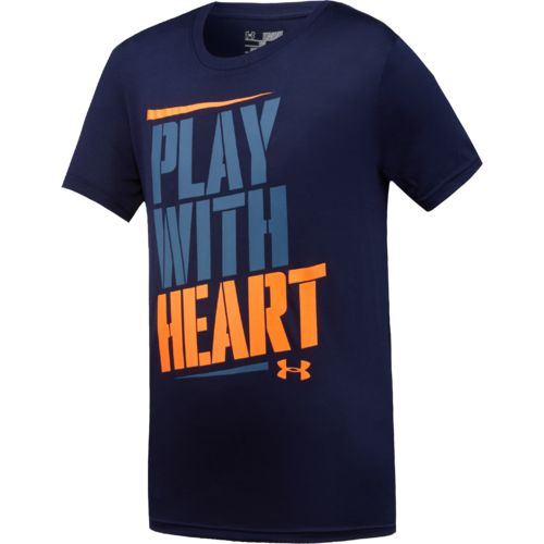 Under Armour™ Boys' Play with Heart T-shirt