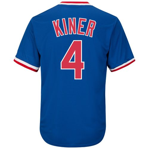Majestic Men's Chicago Cubs Ralph Kiner #4 Cooperstown