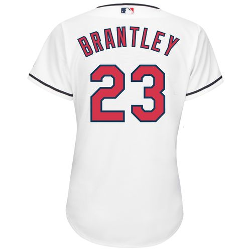 Majestic Women's Cleveland Indians Michael Brantley #23 Cool Base Replica Home Jersey