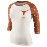 Nike Women's University of Texas Veer Raglan T-shirt