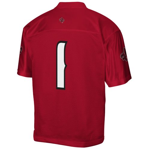 adidas Men's University of Louisiana at Lafayette No. 1 Chase Football Away Jersey - view number 1