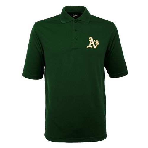 Antigua Men's Oakland Athletics Exceed Polo Shirt