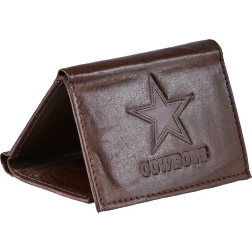 Rico Men's Dallas Cowboys Embossed Trifold Wallet
