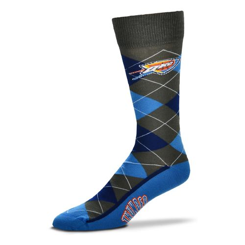 FBF Originals Men's Oklahoma City Thunder Argyle Zoom