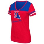 Colosseum Athletics™ Women's Louisiana Tech University Rhinestone Short Sleeve T-shirt