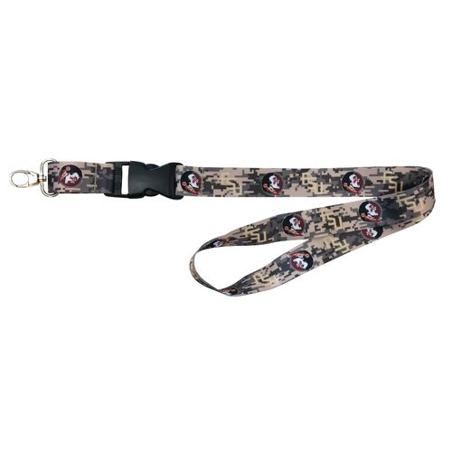 NCAA Florida State University Digicam Lanyard