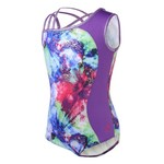 Capezio® Girls' Future Star Magic Spells Printed Leotard