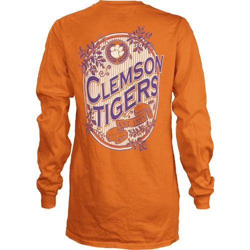 Three Squared Juniors' Clemson University Maya Long Sleeve