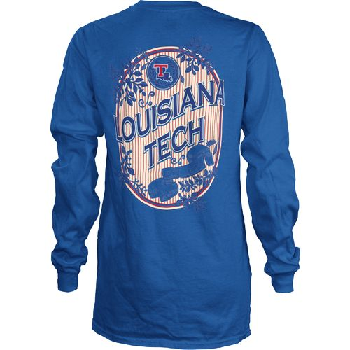 Three Squared Juniors' Louisiana Tech University Maya Long Sleeve T-shirt