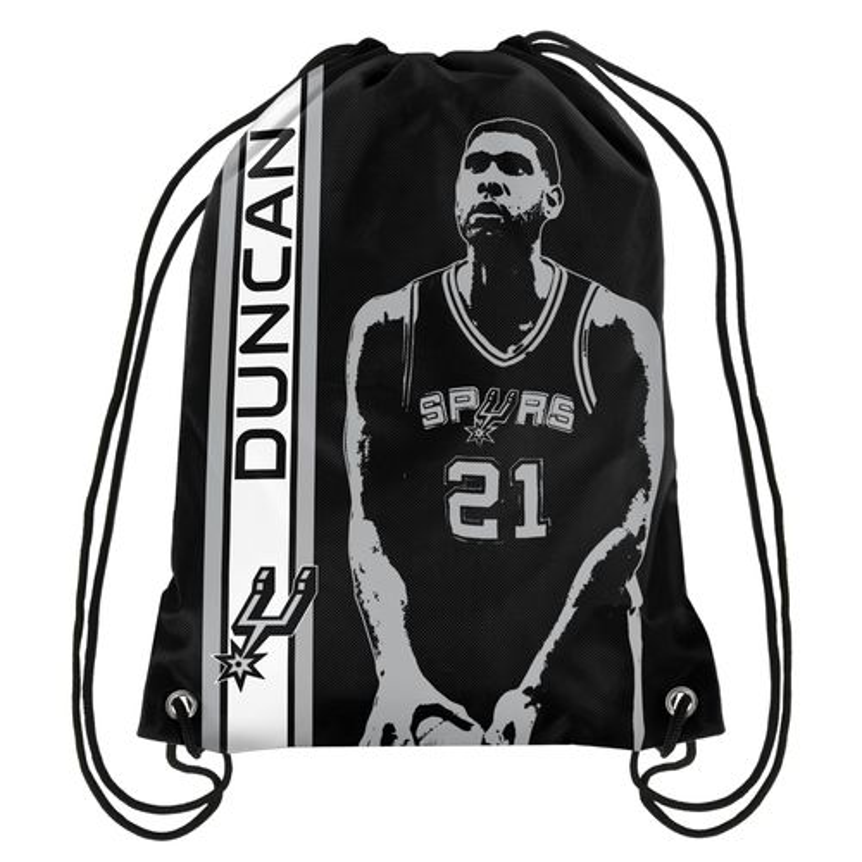 Team Beans San Antonio Spurs Tim Duncan #21 Drawstring Backpack