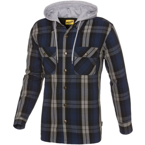 Brazos™ Men's Welder Flannel Hooded Shirt Jacket