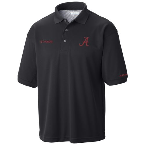 Columbia Sportswear Men's University of Alabama Collegiate Perfect Cast Polo Shirt