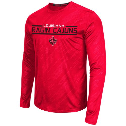 Colosseum Athletics™ Men's University of Louisiana at Lafayette Sleet Embossed Long Sleeve
