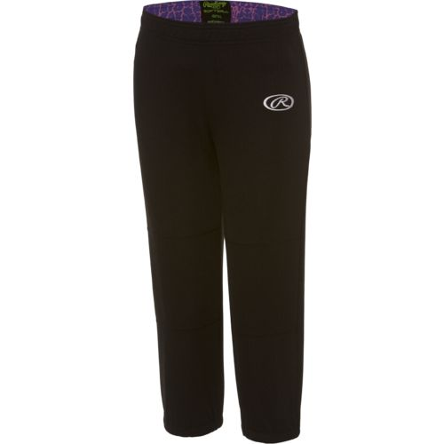 Display product reviews for Rawlings Girls' Pull Up Pant
