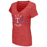 Touch by Alyssa Milano Women's Texas Rangers All American V-Neck Top