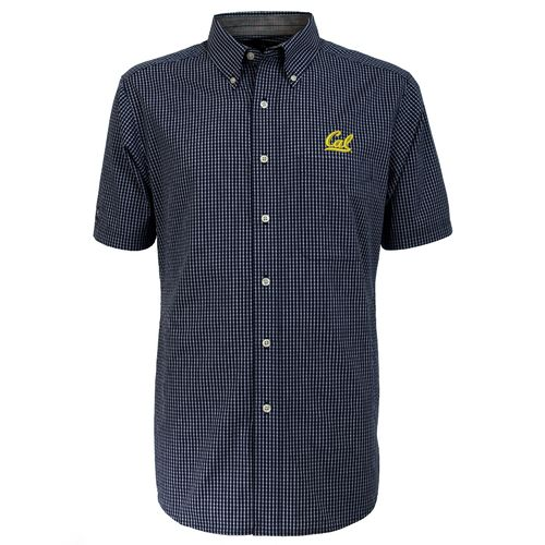 Antigua Men's University of California League Short Sleeve Shirt