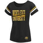 Colosseum Athletics™ Girls' Wichita State University Fading Dot T-shirt - view number 2