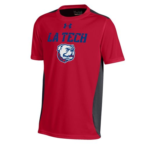 Under Armour Boys' Louisiana Tech University Short Sleeve Colorblock T-shirt