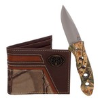 Magellan Outdoors™ Men's Bifold Wallet and Folding Knife Set