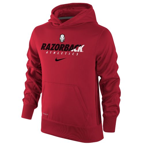 Nike Boys' University of Arkansas Therma-FIT KO Hoodie