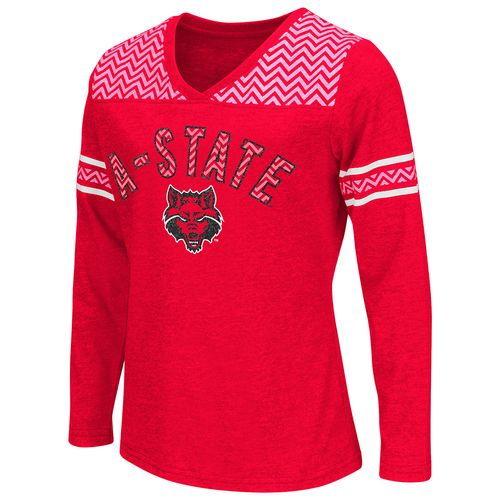 Colosseum Athletics™ Girls' Arkansas State University Cupie Long Sleeve Shirt