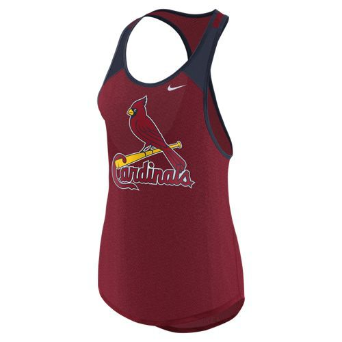 Nike™ Women's St. Louis Cardinals Legend Wordmark Tank Top