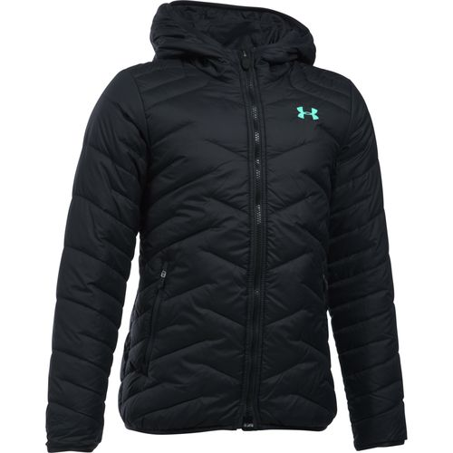 Under Armour™ Girls' ColdGear® Reactor Hooded Jacket