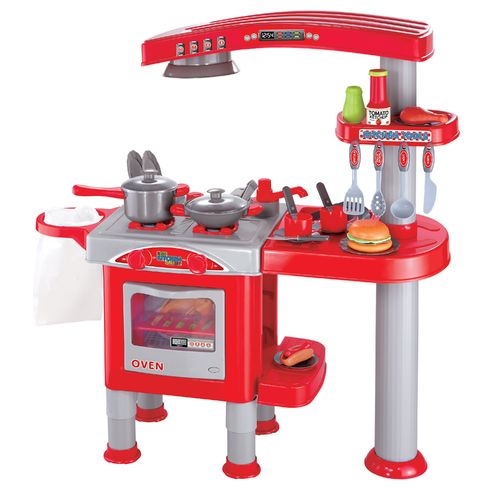 World Tech Toys Kid's Kitchen 40-Piece Playset