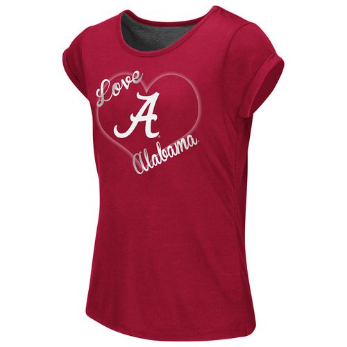 Colosseum Athletics™ Girls' University of Alabama Baywatch Split Back T-shirt