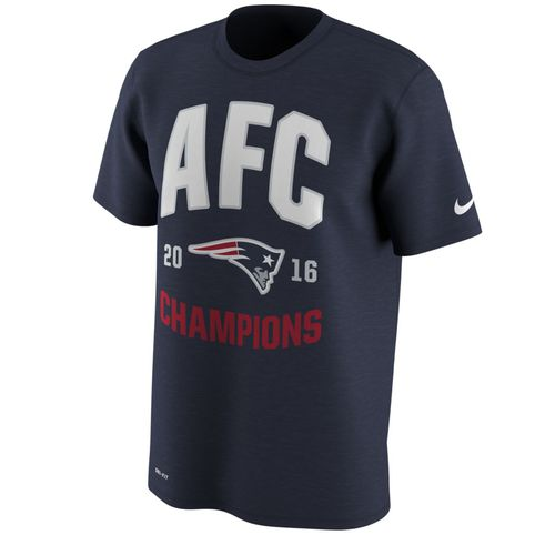 Nike Men's New England Patriots AFC Conference Champs 2016 In Control T-shirt - view number 1