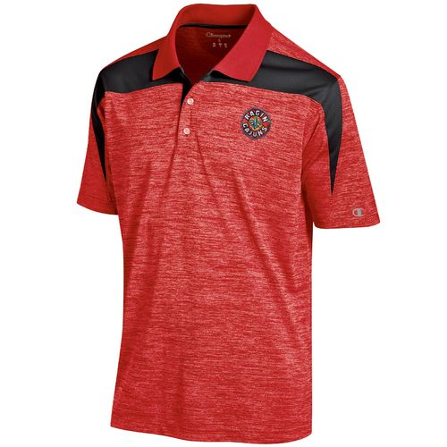 Champion Men's University of Louisiana at Lafayette Synthetic Colorblock Polo Shirt