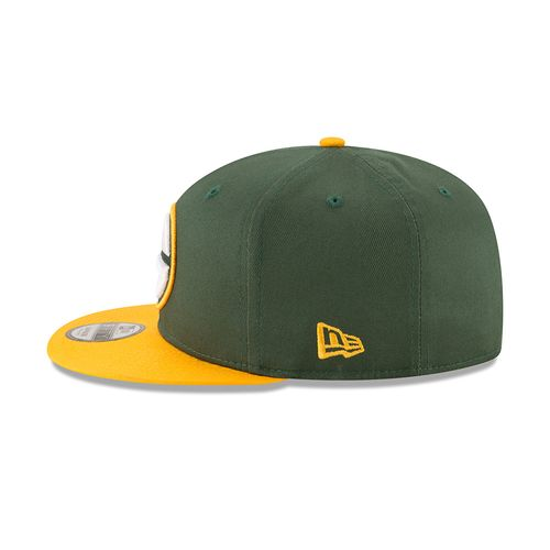 New Era Men's Green Bay Packers 9FIFTY Baycik Snapback Cap - view number 4