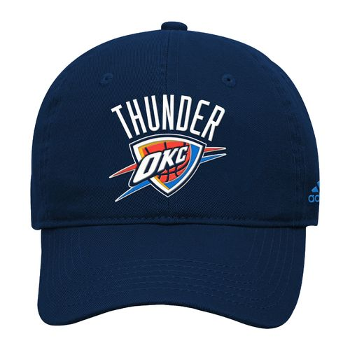 adidas™ Boys' Oklahoma City Thunder Basic Slouch Adjustable Cap