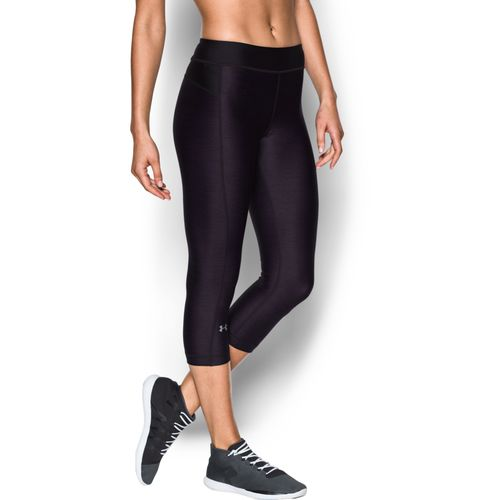 Under Armour Women's HeatGear Armour Printed Capri Pant