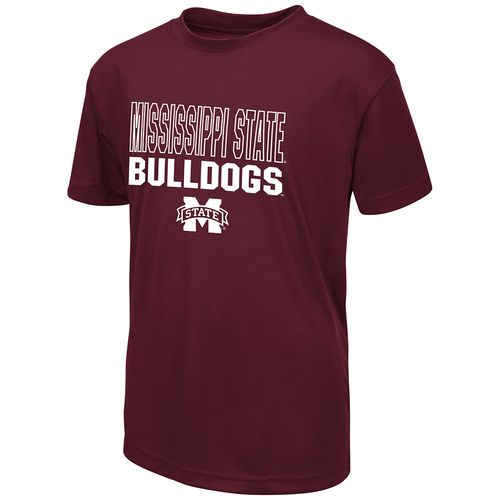 Colosseum Athletics Boys' Mississippi State University Team Mascot T-shirt