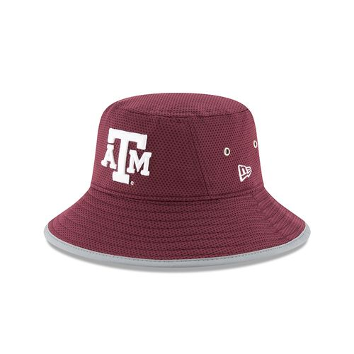 New Era Men's Texas A&M University Team Training Bucket Hat - view number 1
