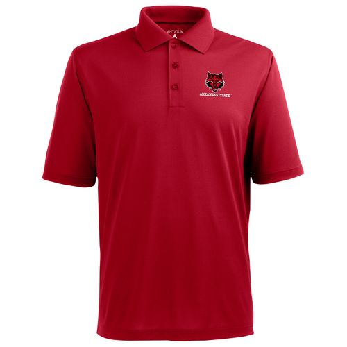 Antigua Men's Arkansas State University Pique Xtra-Lite Polo Shirt - view number 1