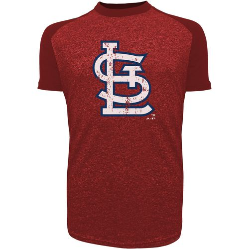 Majestic Threads Men's St. Louis Cardinals Triblend Raglan T-Shirt