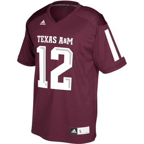 adidas Men's Texas A&M University Replica Football Jersey - view number 1