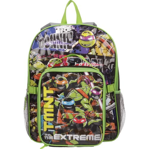 Teenage Mutant Ninja Turtles Boys' to the Extreme Backpack with Lunch Kit