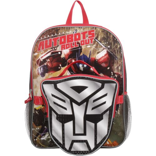 Transformers Boys' Autobots Lunch Time Backpack with Lunch Kit