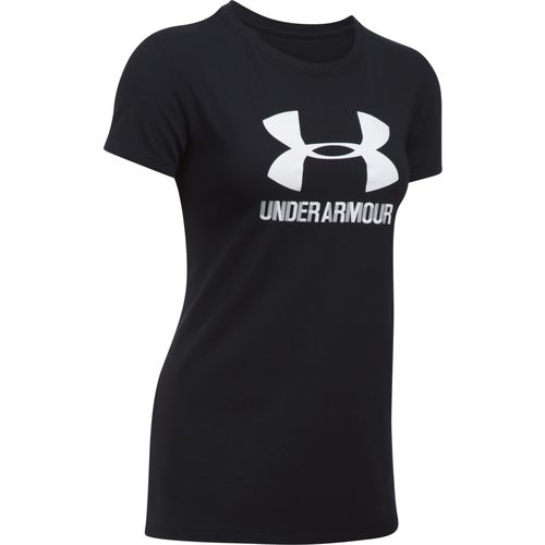 Under Armour Women's Sportstyle Short Sleeve Crew Shirt