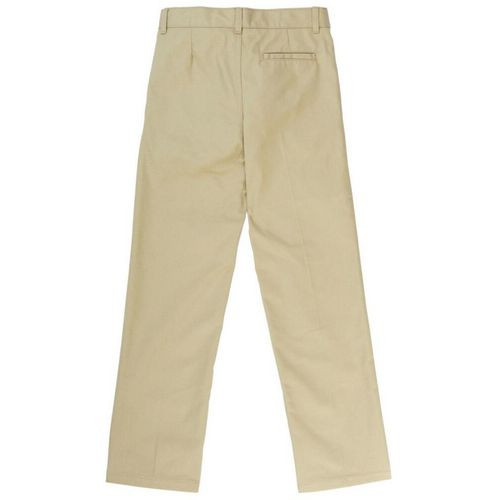 French Toast Boys' Adjustable Waist Pleated Double Knee Uniform Pant - view number 3