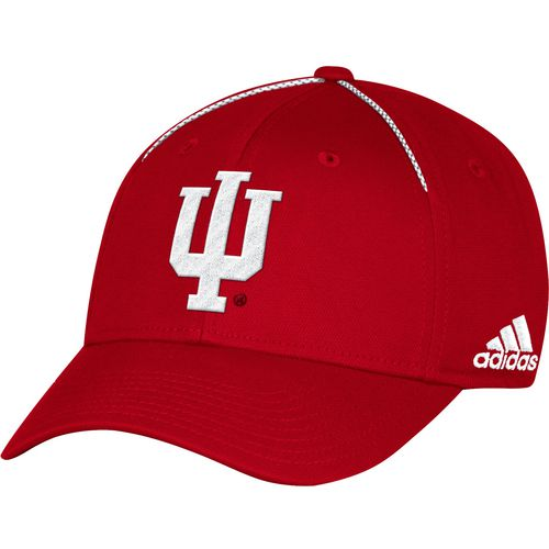 adidas Men's Indiana University Coach Structured Flex Cap