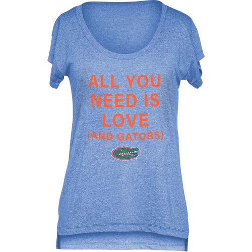 Chicka-d Women's University of Florida Scoop-Neck T-shirt