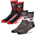 For Bare Feet Men's Atlanta Falcons Father's Day Socks - view number 1