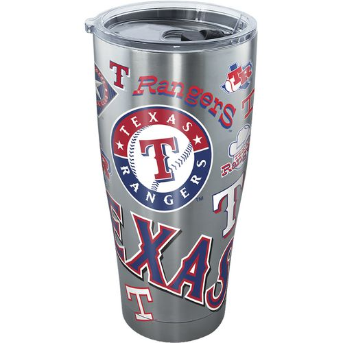 Tervis Texas Rangers 30 oz All Over Stainless-Steel Tumbler