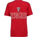 New World Graphics Women's Texas Tech University Comfort Color Initial Pattern T-shirt - view number 1