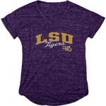 Blue 84 Women's Louisiana State University Dark Confetti V-neck T-shirt - view number 1